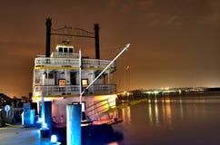 Un barco atracado en el río Potomac Imagen de archivo libre de regalías