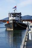 Un barco de la langosta. Imagenes de archivo