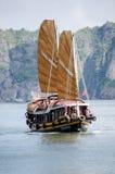 Un barco de los desperdicios Imagen de archivo