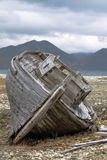 Un barco de madera viejo Fotografía de archivo libre de regalías