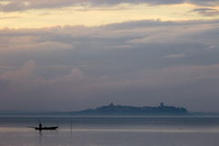 Un barco del pescador Imágenes de archivo libres de regalías