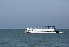 Barco el pontón Fotos de archivo