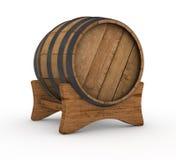 Barilotto di legno illustrazione di stock