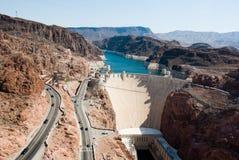 Un barrage de Hoover Photographie stock