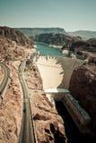 Un barrage de Hoover Image stock