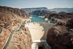 Un barrage de Hoover Photos stock
