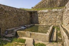Un barrage médiéval Photos libres de droits