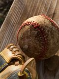 Un base-ball Images libres de droits