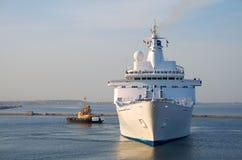 Un bateau de croisière de luxe Photographie stock libre de droits