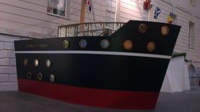 Un bateau de pirate Photo stock