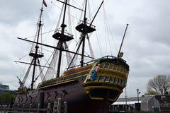 Un bateau grand à partir de 1748, reconstruisent vers 2016 Photos stock
