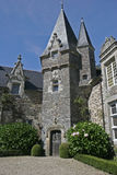 Un beau château pour vos vacances Photos stock