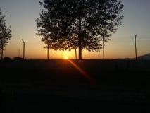 Un beau ciel Photographie stock