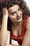 Un beau jeune brunette Images stock
