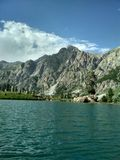 Un beau Mountain View image libre de droits