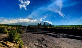 Un beau paysage Photos stock