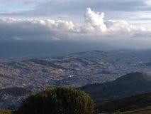 Un beau paysage de Quito Photo libre de droits