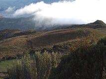 Un beau paysage de Quito Images stock