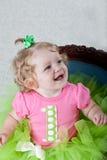 Un bebé de los años Imágenes de archivo libres de regalías