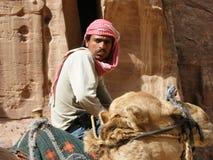 Un Bedioun en el desierto imagen de archivo libre de regalías