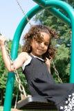 Un bel enfant de chemin mélangé photo stock