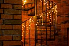 Un bel escalier Photographie stock