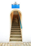 Un bel escalier dans la voûte Photo libre de droits
