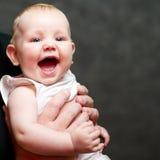 Un bello bambino sorridente Fotografia Stock