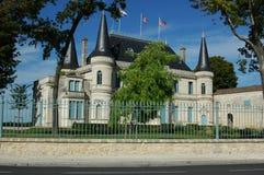 Un bello castello in Francia Fotografia Stock Libera da Diritti