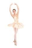 Un bello danzatore della ballerina fotografia stock