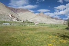 Un bello paesaggio in India Fotografia Stock