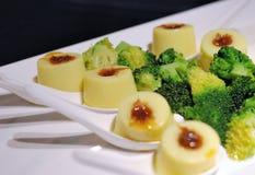 Un bello piatto in un ristorante cinese Immagine Stock Libera da Diritti