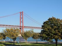 Un bello posto - Lisbona, Portogallo immagine stock libera da diritti