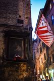 Un bello posto a Siena Fotografie Stock