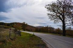 Un bello posto in Toscana Fotografie Stock