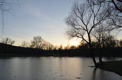 Un bello tramonto Fotografie Stock Libere da Diritti