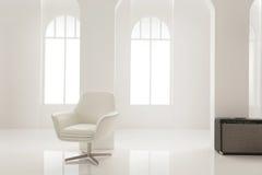 Un bianco e un buio Fotografia Stock