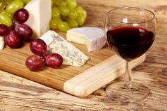 Un bicchiere di vino rosso Fotografia Stock Libera da Diritti