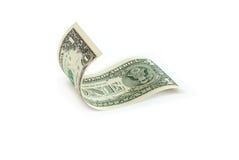 Un billet d'un dollar Image libre de droits