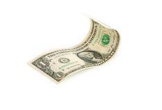 Un billet d'un dollar Images libres de droits