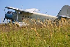 Un biplano Fotografie Stock