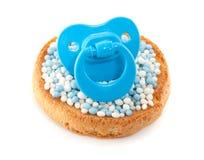Un biscotto con i mouse Immagini Stock
