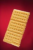 Un biscuit de rectangle photo libre de droits