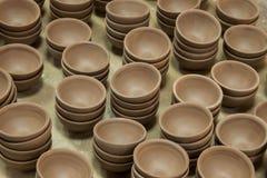 Un blanc de Rongchang Tao de musée de poterie de studio de poterie de Chongqing Rongchang Photos stock