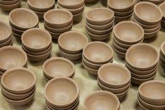 Un blanc de Rongchang Tao de musée de poterie de studio de poterie de Chongqing Rongchang Images stock
