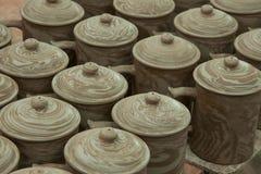 Un blanc de Rongchang Tao de musée de poterie de studio de poterie de Chongqing Rongchang Photographie stock libre de droits