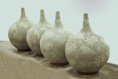 Un blanc de Rongchang Tao de musée de poterie de studio de poterie de Chongqing Rongchang Photographie stock