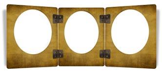 un blocco per grafici dei 3 grunge con un arco Fotografia Stock