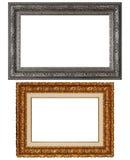 Un blocco per grafici di due ricchi Fotografia Stock
