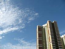 Un bloque de los planos de HDB en Singapur Foto de archivo libre de regalías